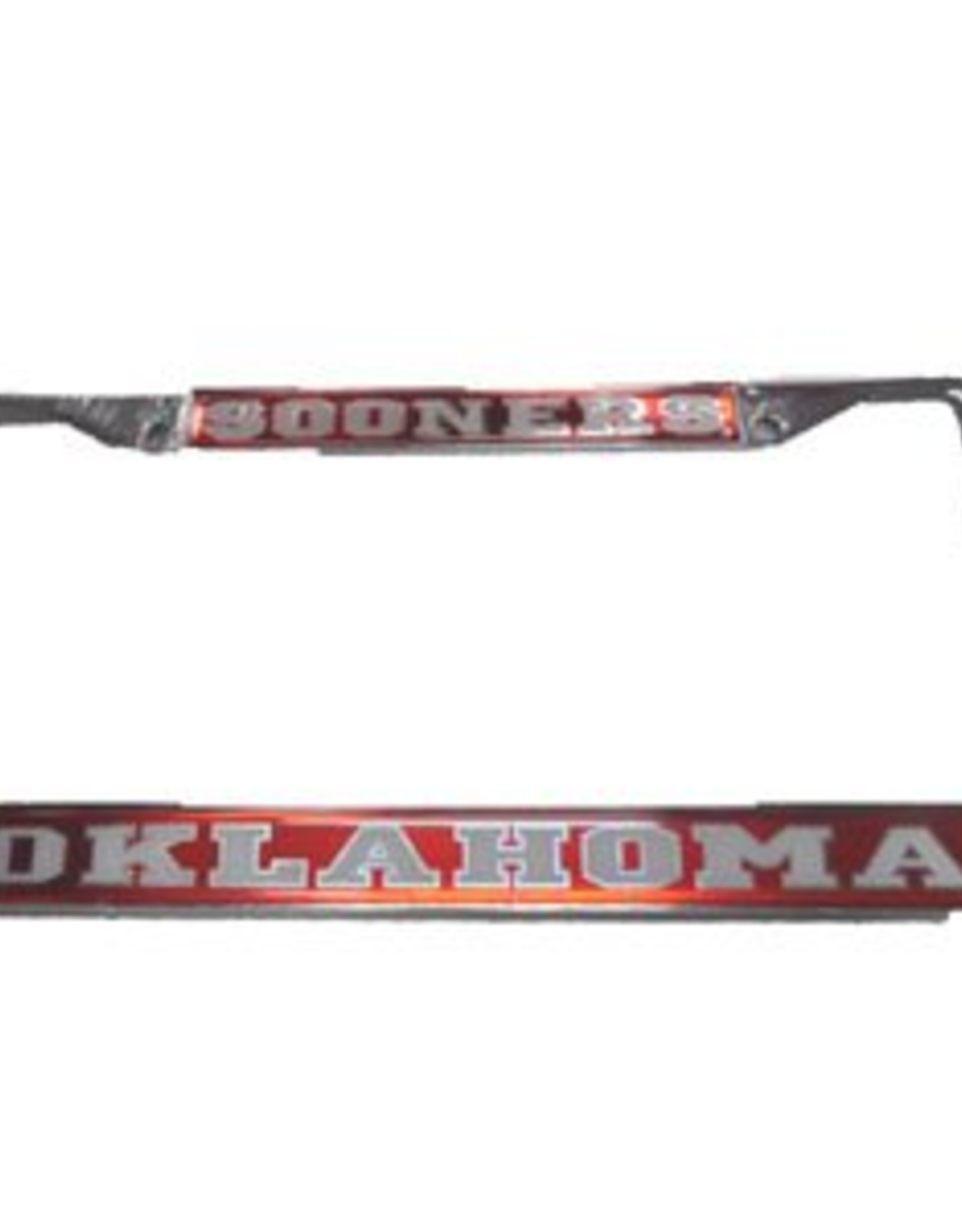 Craftique Craftique Sooners/Oklahoma White/Crimson License Frame