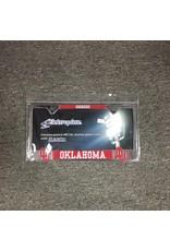 Elektroplate Elektroplate Sooners/OU's/Oklahoma Whtie Crimson License Frame