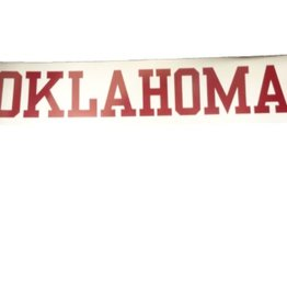"SDS Design Oklahoma Car Magnet 2.25""x12"""