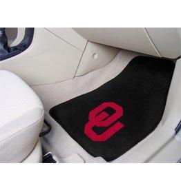 Fanmats OU 2-Piece Carpet Car Mats