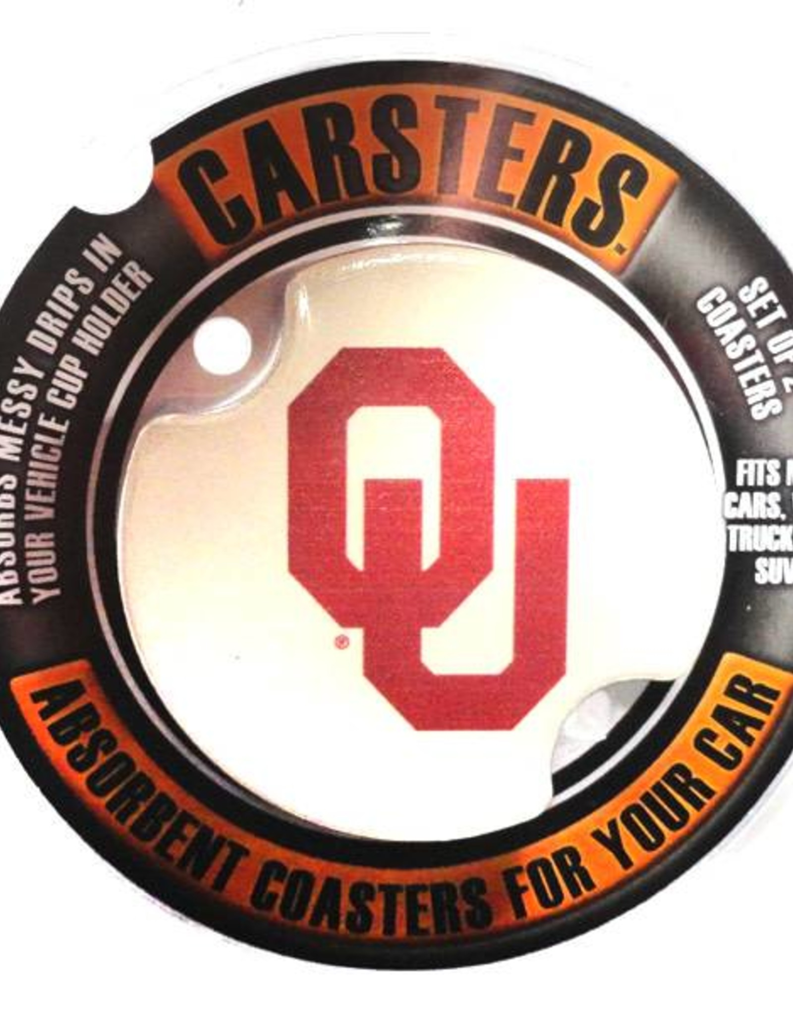 Thirstystone OU Carsters Car Coasters