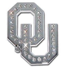 Elektroplate OU Clear Crystals Auto Emblem