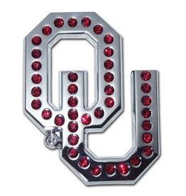 Elektroplate OU Crimson Crystals Auto Emblem