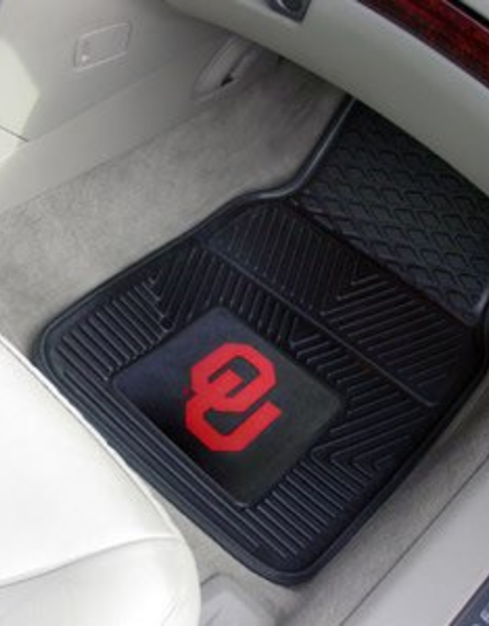 Fanmats OU Heavy Duty 2-Piece Vinyl Car Mats
