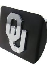Elektroplate OU Hitch Cover Black with Chrome OU
