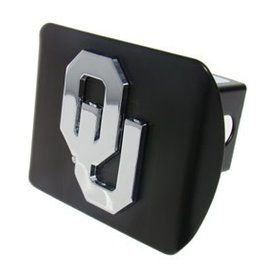 Elektroplate OU Hitch Cover Black with Chrome OU