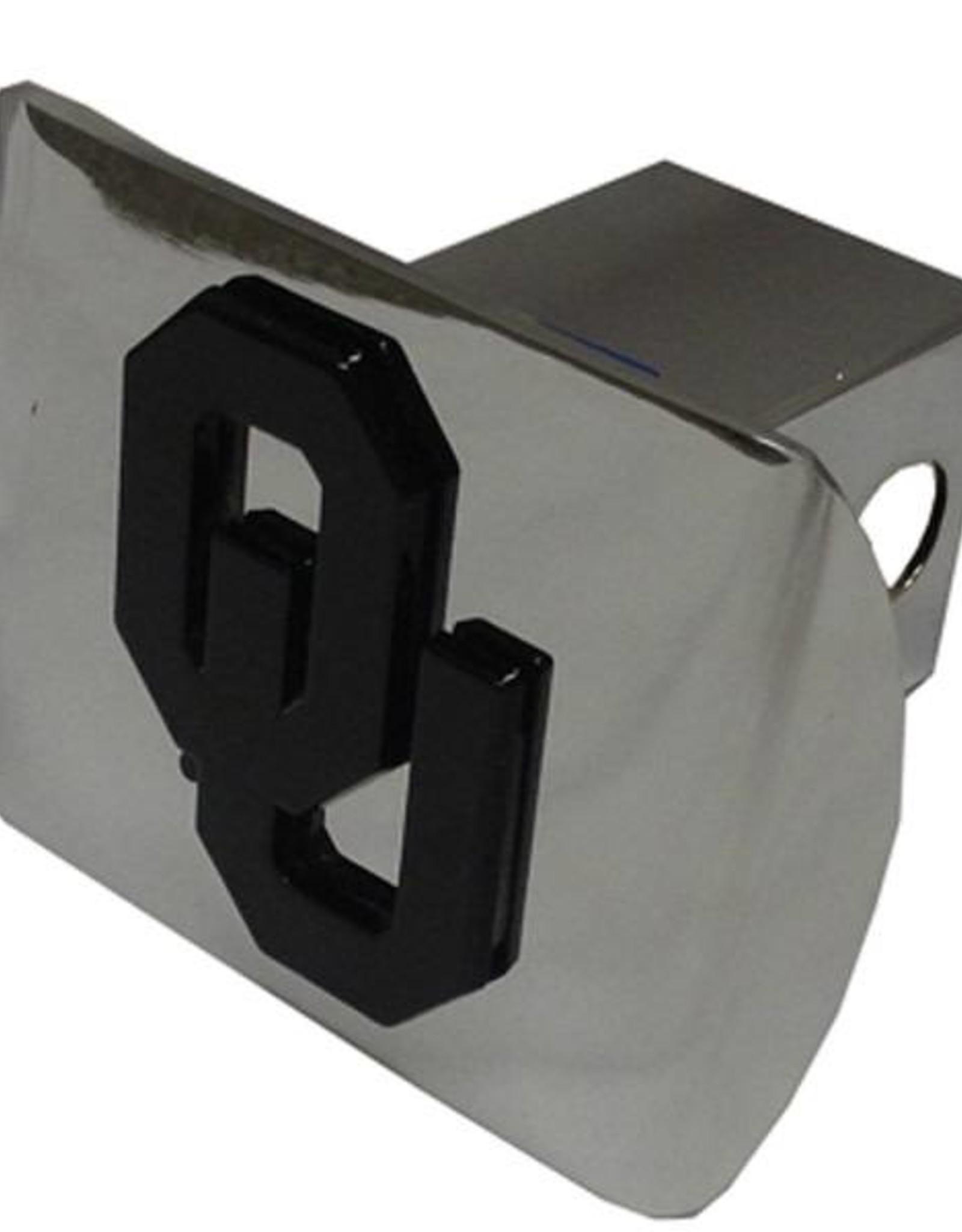 Elektroplate OU Hitch Cover Chrome with Black OU