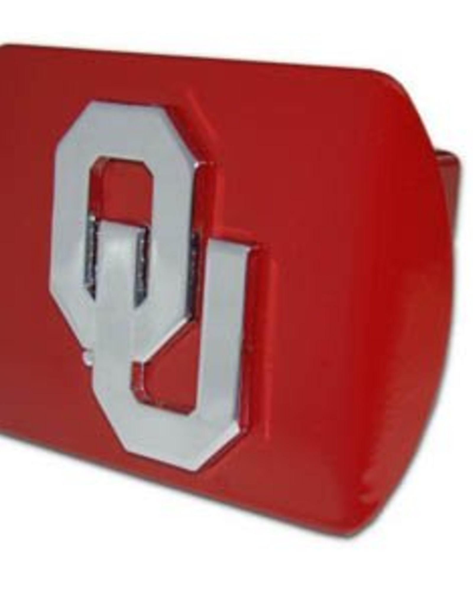 Elektroplate OU Hitch Cover Crimson with Chrome OU