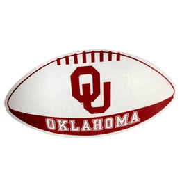 "SDS Design OU Oklahoma Football Shape Car Magnet 6.5""x11.5"""