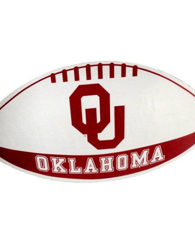 """SDS Design OU Oklahoma Football Shape Car Magnet 6.5""""x11.5"""""""