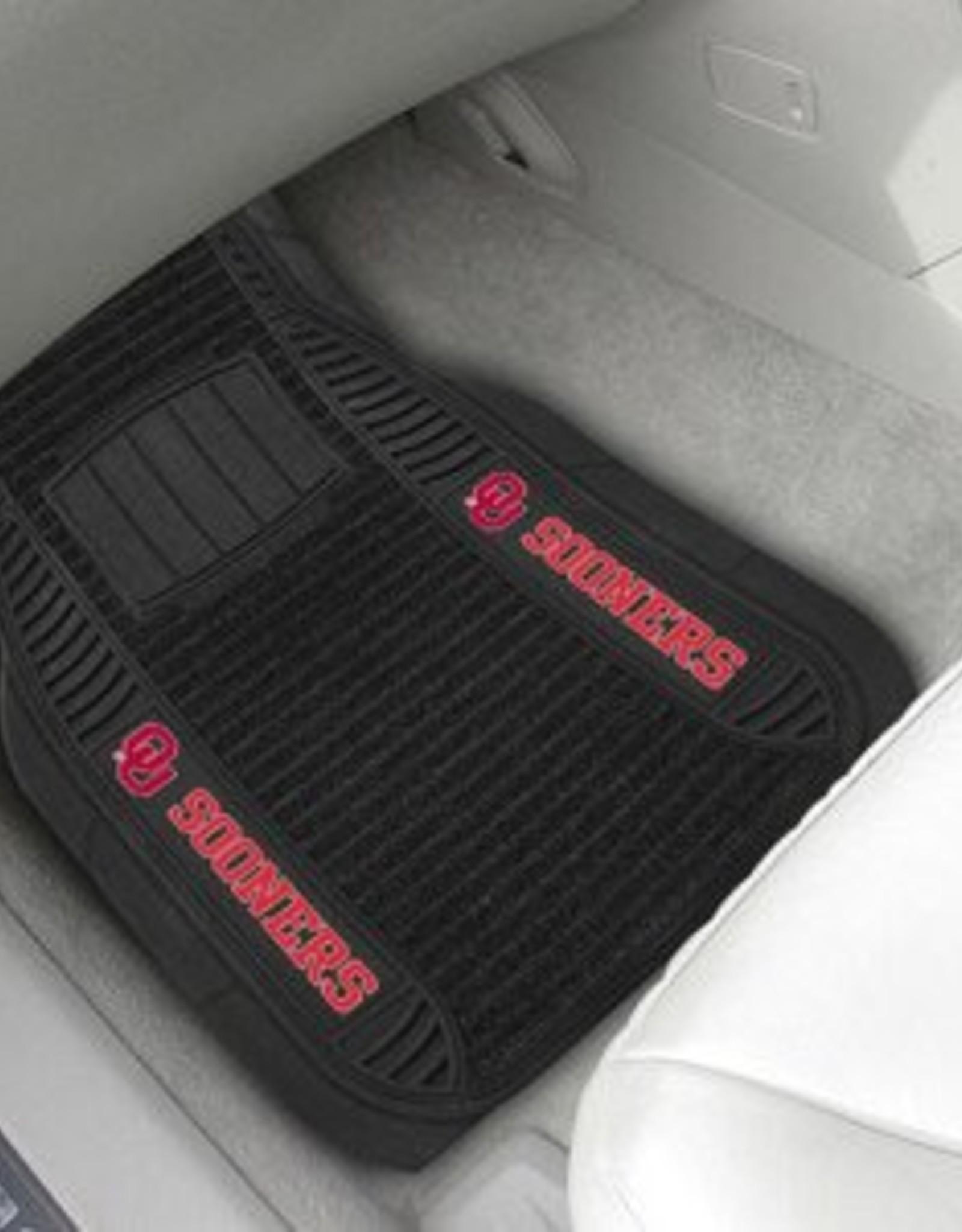 Fanmats OU Sooners 2-Piece Deluxe Car Mats