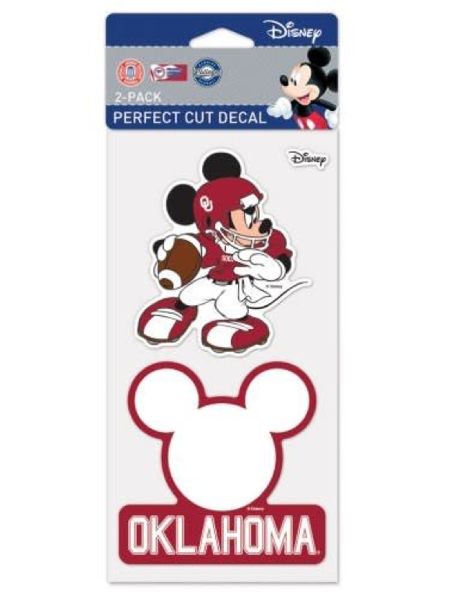 WinCraft Disney Oklahoma Decal 2-pack
