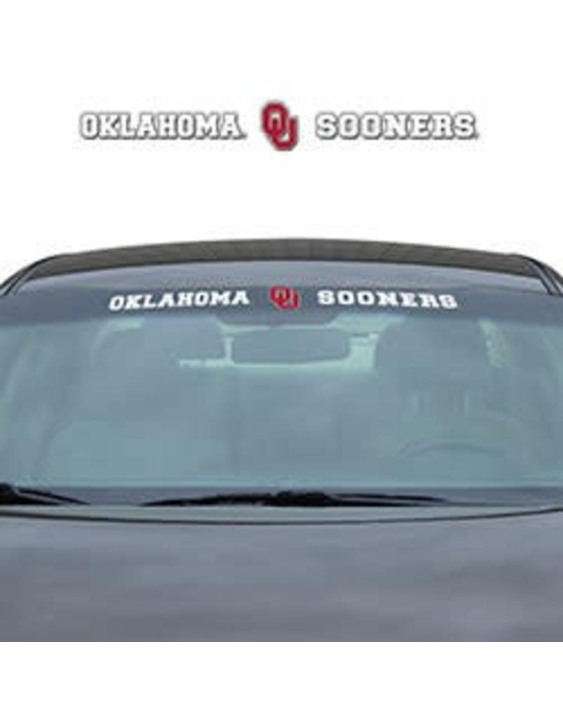 Pro Mark Oklahoma OU Sooners Front Windshield Auto Decal