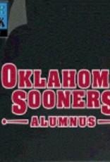 "Color Shock Oklahoma Sooners Alumnus Auto Decal 2.7""x6.4"""