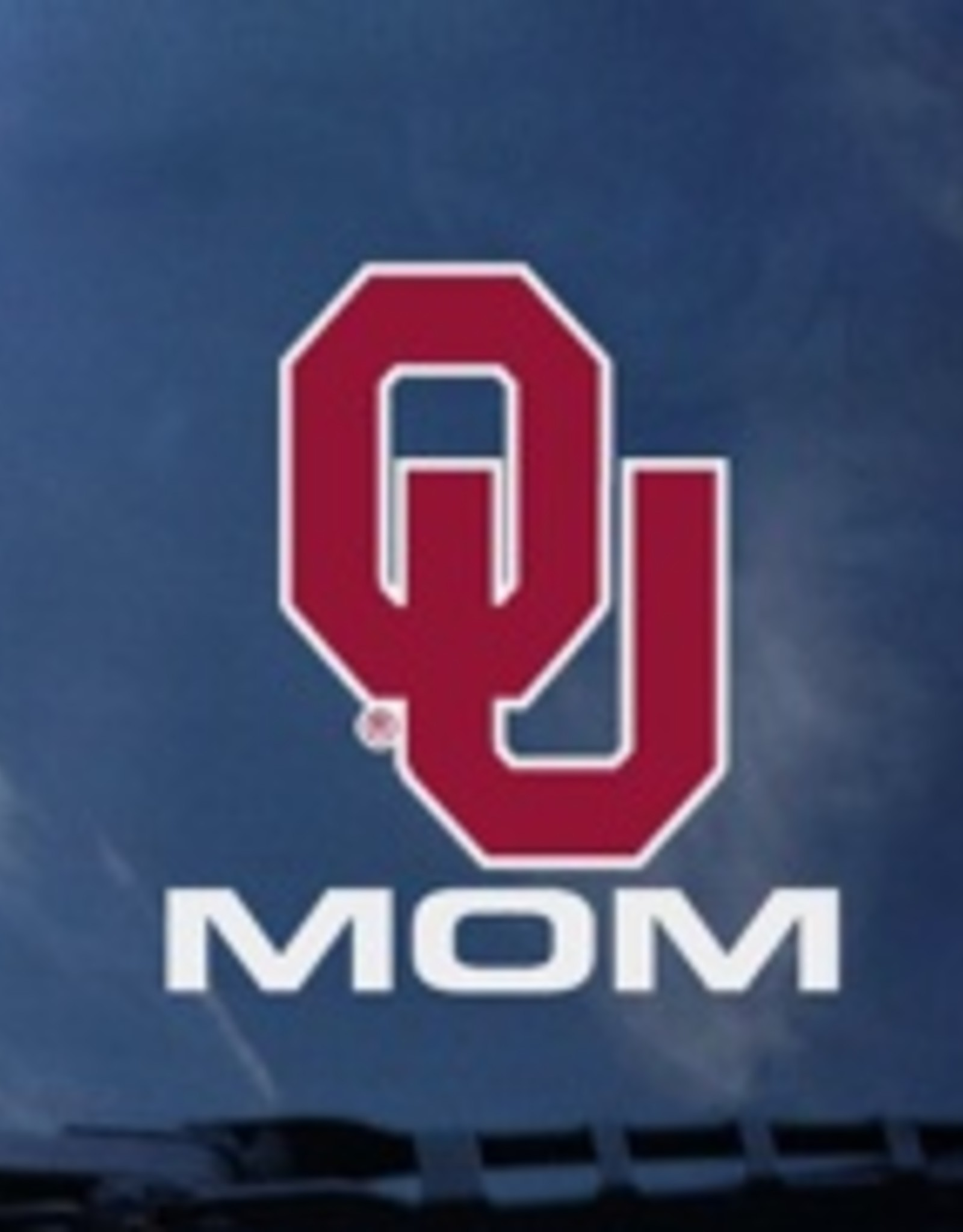 """Color Shock OU Mom Vertical Auto Decal 3.8""""X3.5"""""""