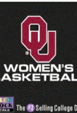 "Color Shock OU Women's Basketball Auto Decal 3.5""X5"""