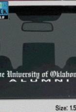"Color Shock The University of Oklahoma Alumni Old English Auto Decal 1.5""x15.5"""