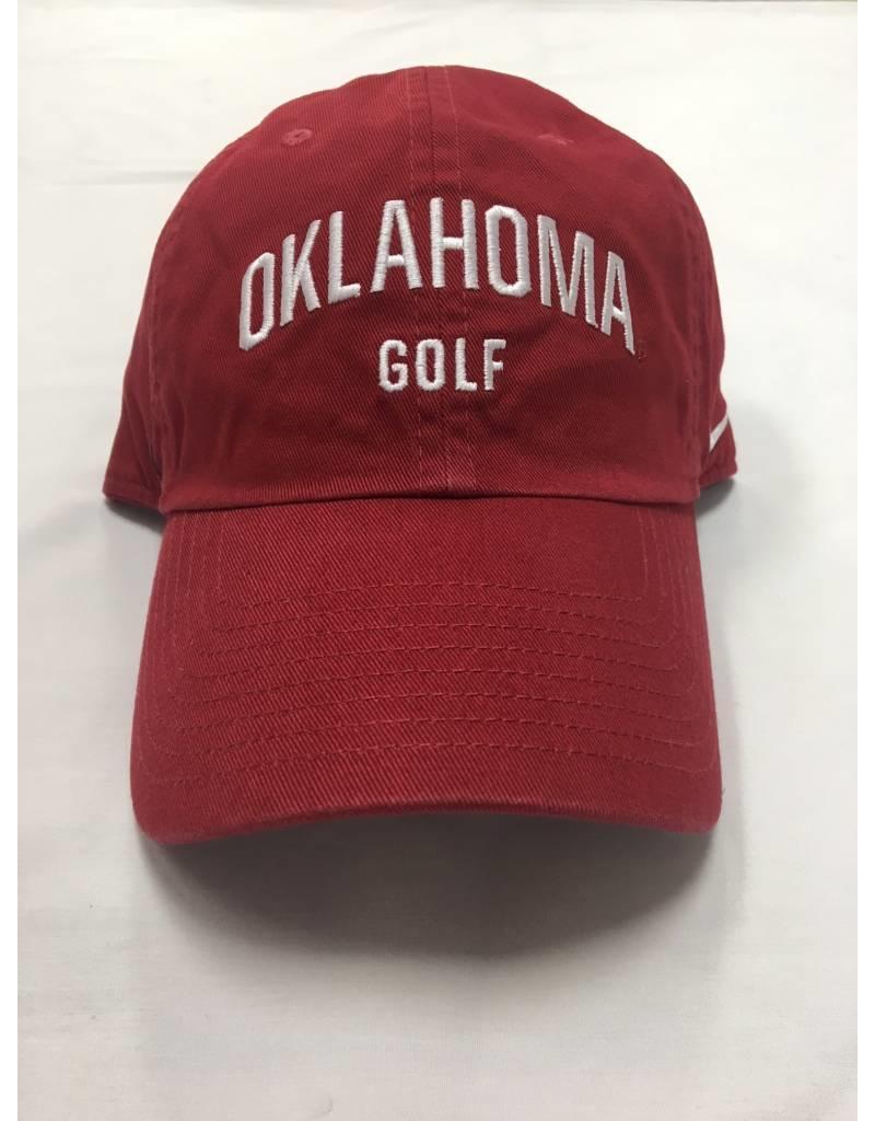 Nike Nike Oklahoma Golf Campus Cap Crimson
