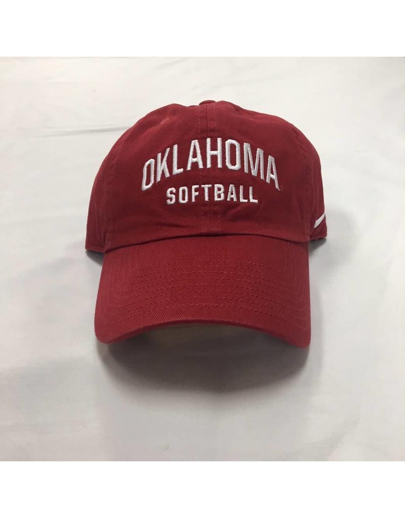 Nike Nike Oklahoma Softball Campus Cap Crimson