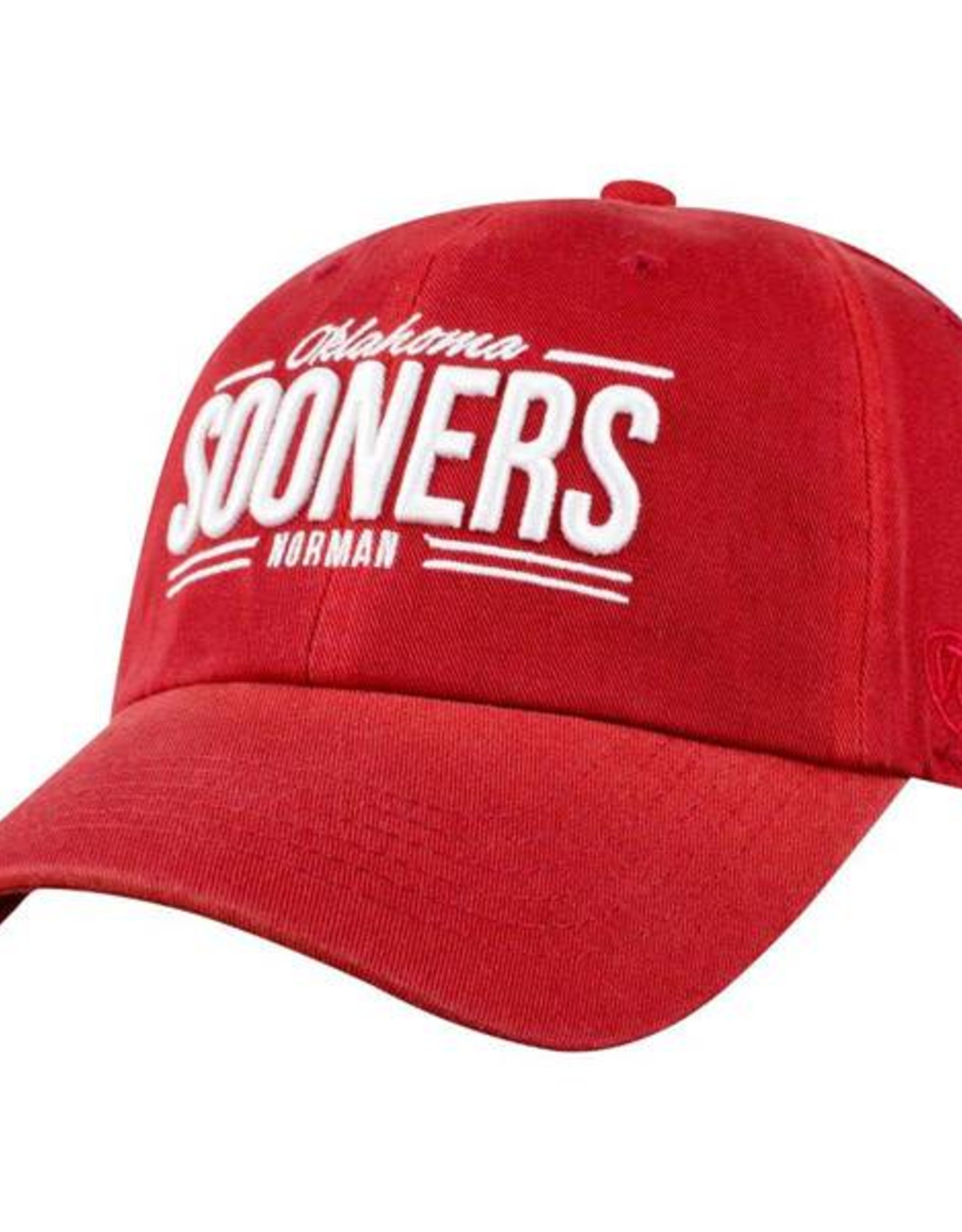 Top of the World TOW Crimson Oklahoma Sooners Norman Hat
