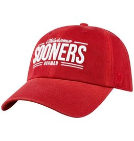 b284041444321 Top of the World TOW Crimson Oklahoma Sooners Norman Hat