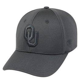 Top of the World TOW Hideout One Fit Black Hat