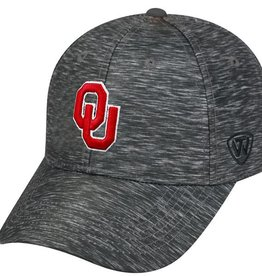 Top of the World TOW One-Fit Charcoal Heather Performance Hat