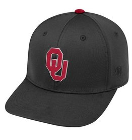 Top of the World TOW One-Fit Impact Black OU Hat