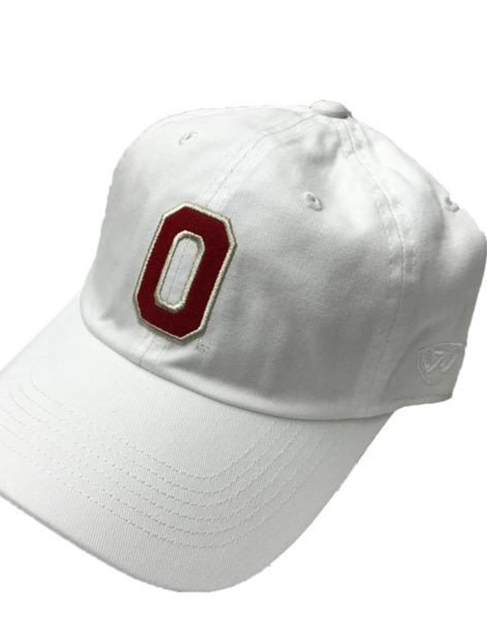 Top of the World TOW White Felt Block Vintage O Hat