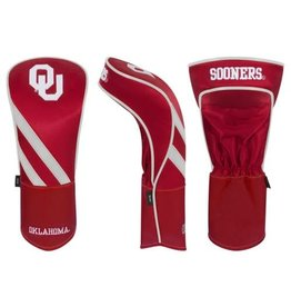 Team Effort Crimson OU Driver Headcover