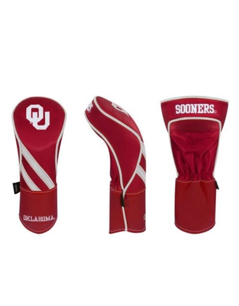 Team Effort Crimson OU Fairway Headcover