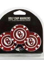 Team Golf Golf Poker Chip Markers 3-Pack