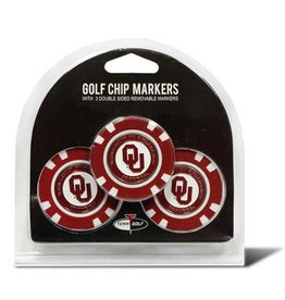 Team Golf Golf Poker Chip Markers 3-Pack