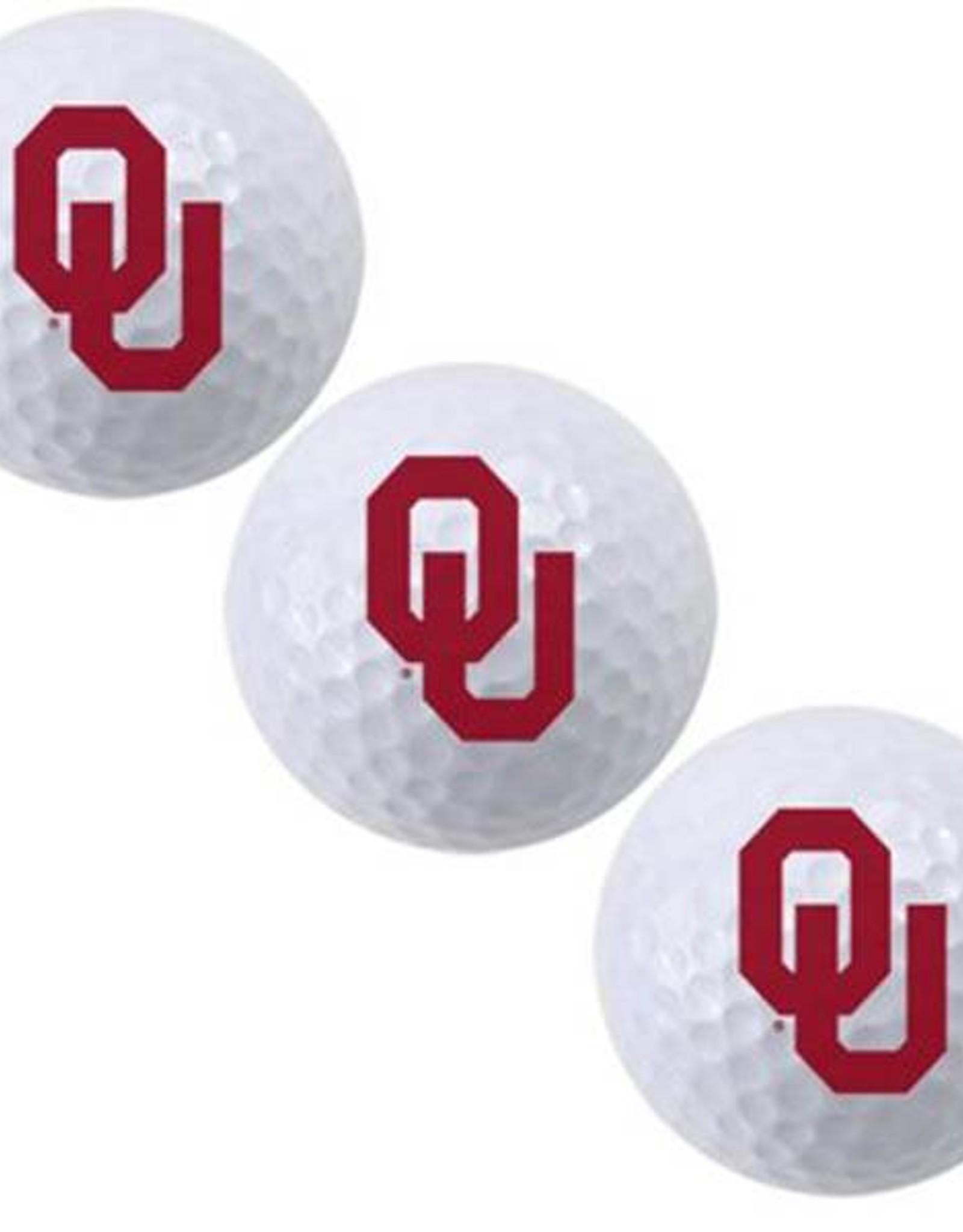 Team Effort OU 3 Pack Golf Balls