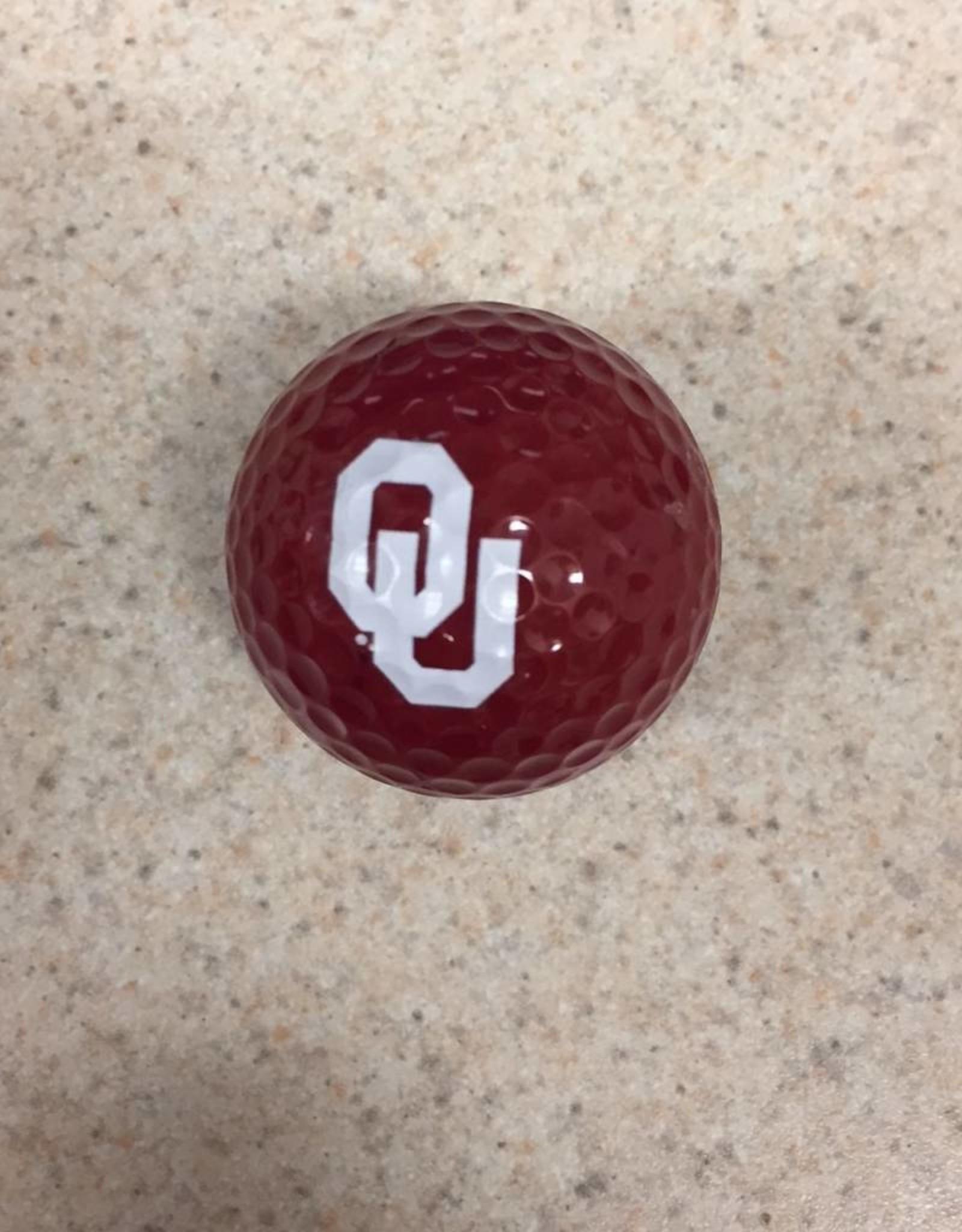 Team Golf OU Crimson Golf Ball Single