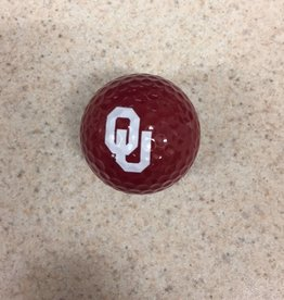 Team Golf OU Crimson Golf Ball Single