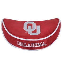 Team Effort OU Oklahoma Mallet Putter Cover