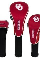 Team Effort OU Sooners Crimson Set Of Three Headcovers