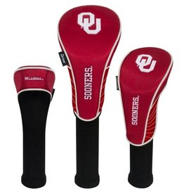 Team Effort OU Sooners Crimson Set Of Three Headcovers