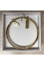 Emerson Street Gold Bangle OU Sooners Charm Bracelet