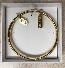 Emerson Street Gold Bangle OU Sooners Charm Bracelet