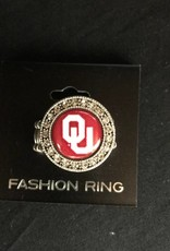 FTH FTH OU Crystal Round Stretch Ring