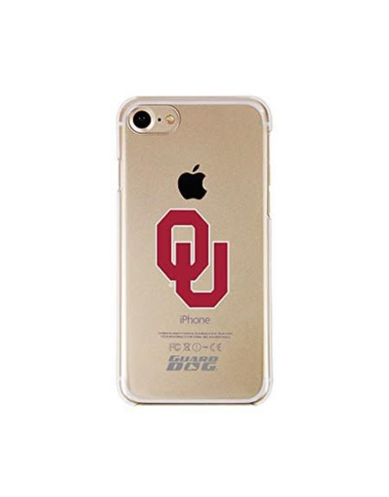 Guard Dog Guard Dog iPhone 7/8 Case Clear with Crimson OU