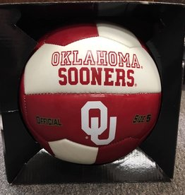 Gamemaster OU Oklahoma Sooners Soccer Ball Crimson & White Size 5