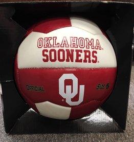 Gamemaster OU Oklahoma Sooners Soccer Ball Crimson & White Size 5