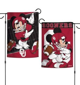 "WinCraft Disney Oklahoma Football Garden Flag (12""x18"")"