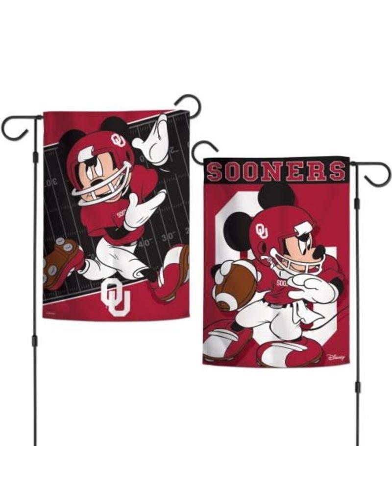 """WinCraft Disney Oklahoma Football Garden Flag (12""""x18"""")"""