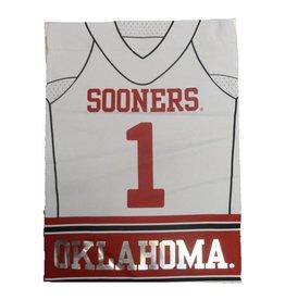 "Team Sports America Home/Away OU Football Jersey Garden Flag 12.5"" x 18"""