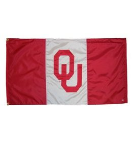 Sewing Concepts OU Crimson 3 Panel 3'x5' Flag (B)