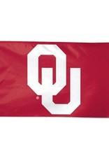 Sewing Concepts OU Crimson 3'x5' Silk Screened Flag (E)
